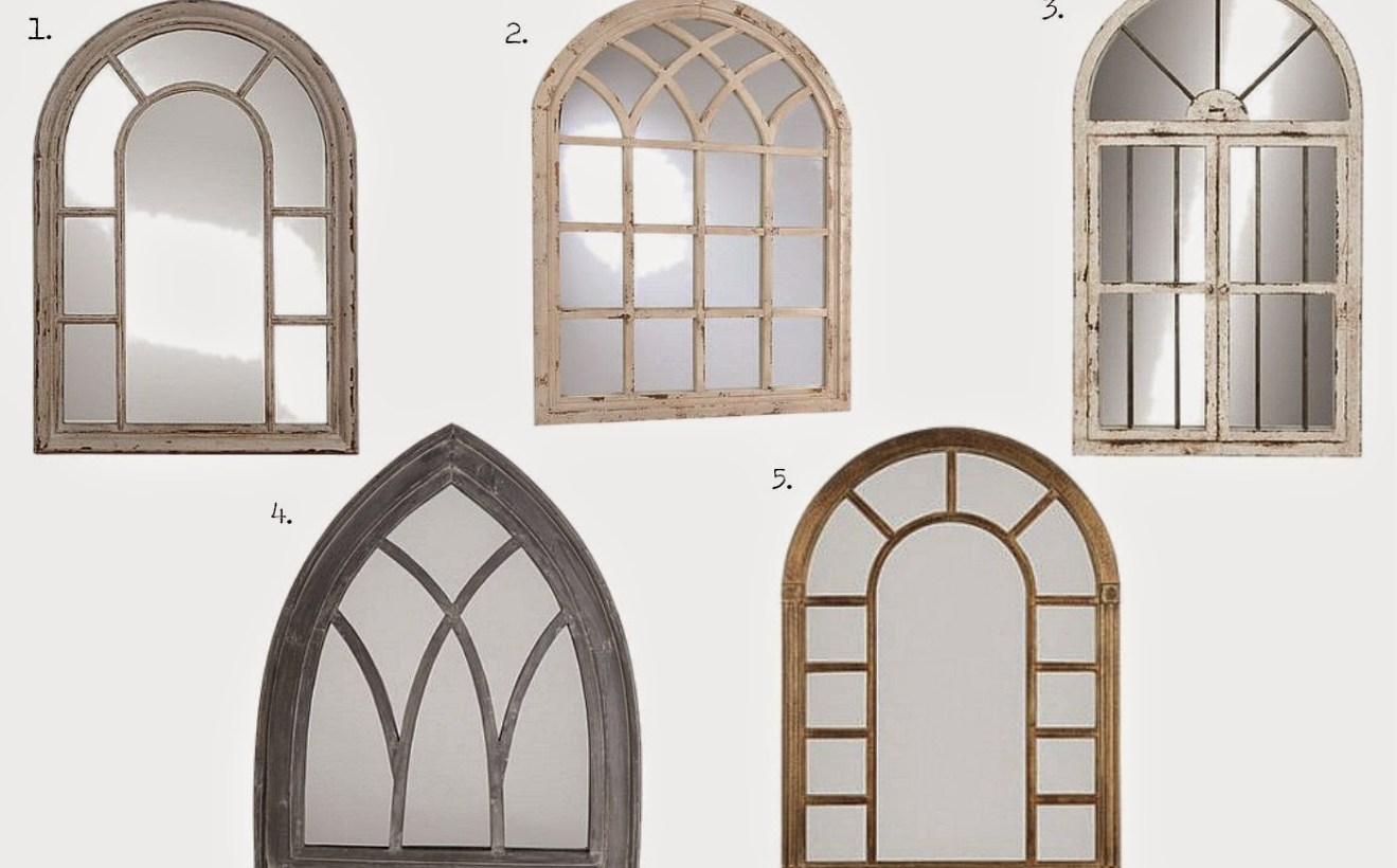 Kirklands Mirrors | Palladian Window Mirror | Windowpane Mirror