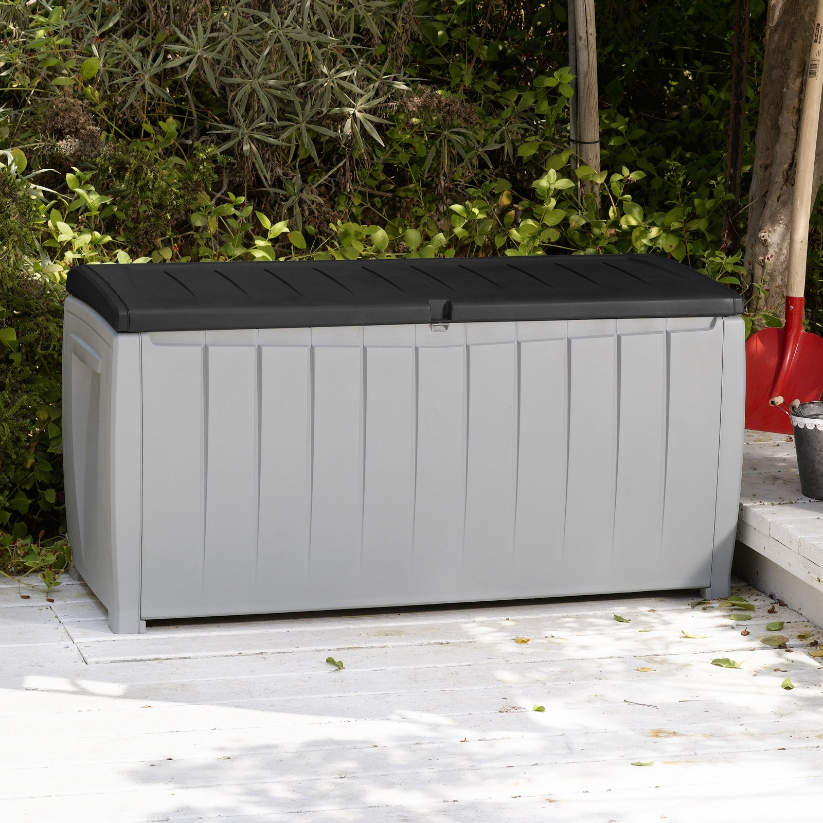 Large Deck Box for Cushions | Keter Deck Box 150 | Keter 150 Gallon Deck Box