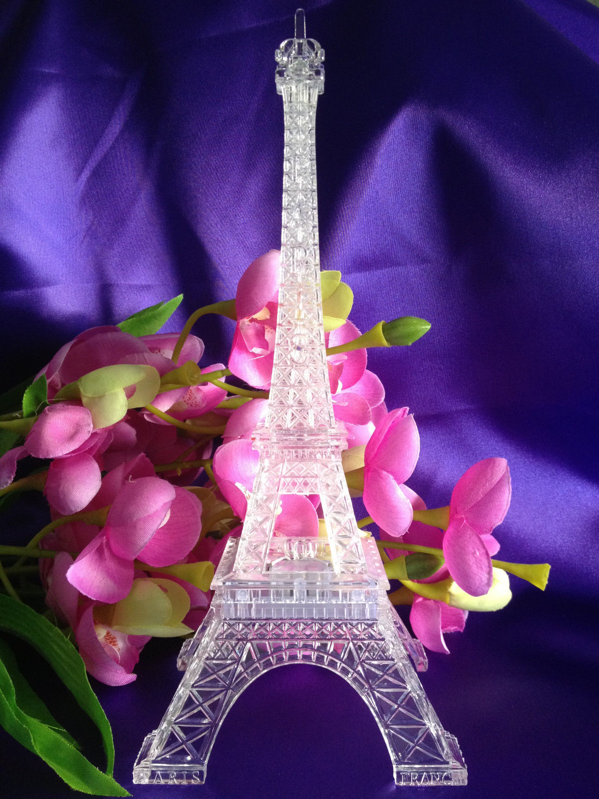 Large Eiffel Tower Statue | Eiffel Tower Decor for Bedroom | Eiffel Tower Centerpieces