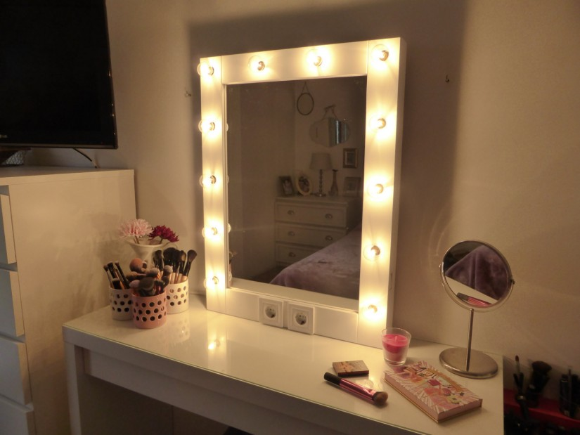 Large Makeup Mirror With Lights | Hollywood Vanity Mirror With Lights | Vanity Mirror Makeup