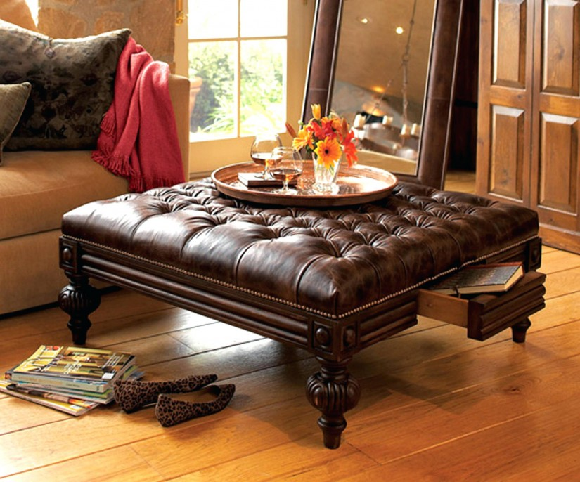 Large Ottoman Coffee Table | Large Ottoman Coffee Tables | Large Ottomans With Storage