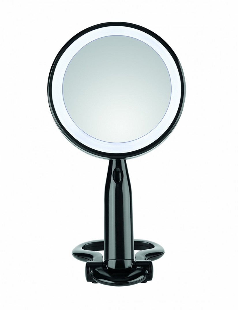 Lighted Mirror Walmart | Conair Lighted Makeup Mirror | Conair Natural Daylight Mirror
