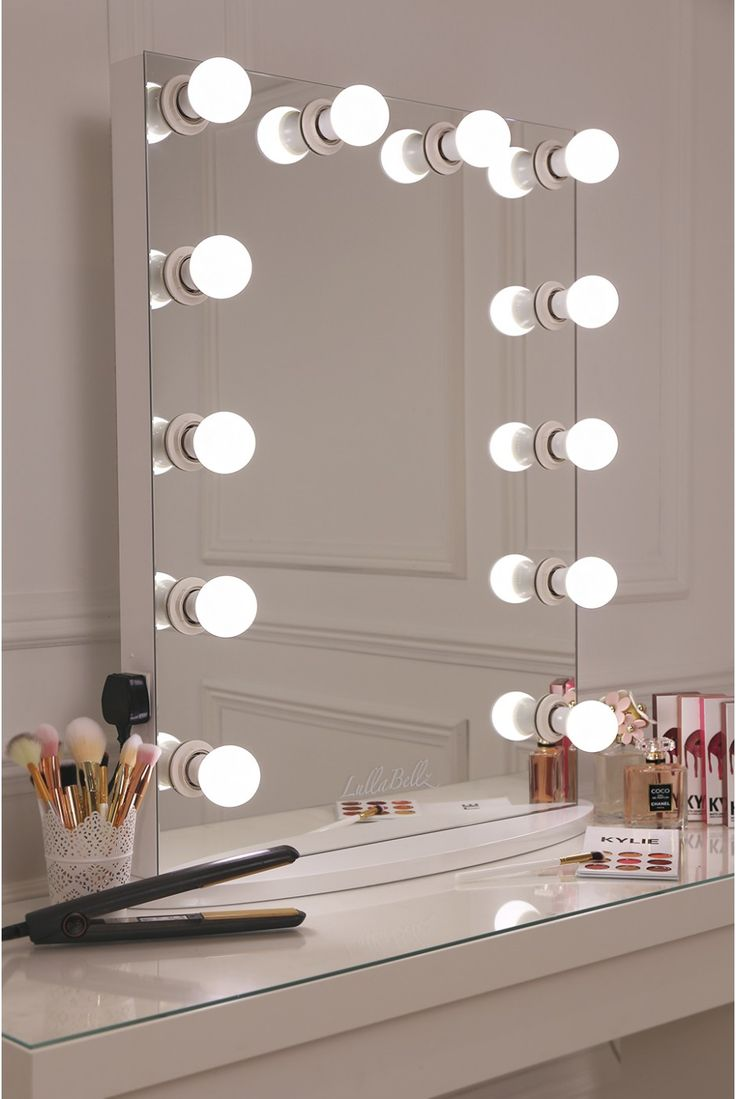 Lighted Vanity Mirror Hollywood | Hollywood Vanity Mirror With Lights | Big Makeup Mirror With Lights
