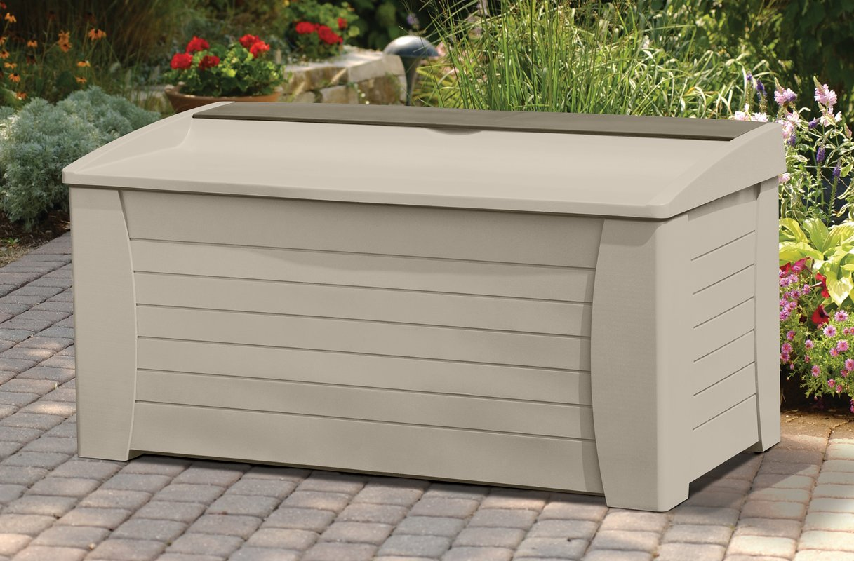 Lockable Deck Box | Keter 150 Gallon Deck Box | Keter 150 Gallon Storage Deck Box