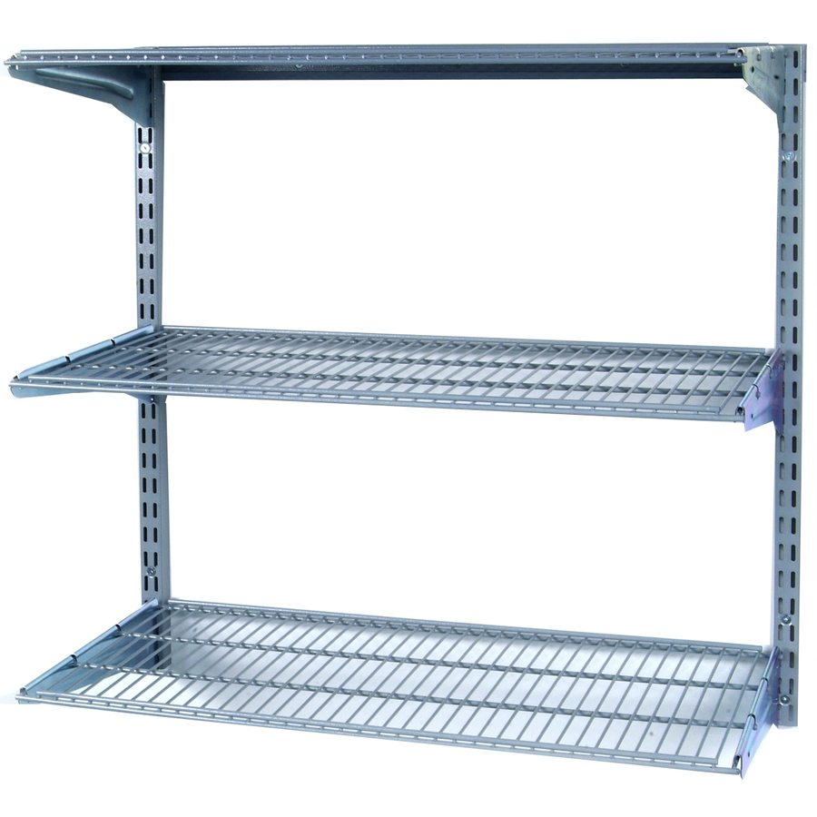 Storage: Inspiring Space Room Storage Ideas With Lowes Wire Shelving ...