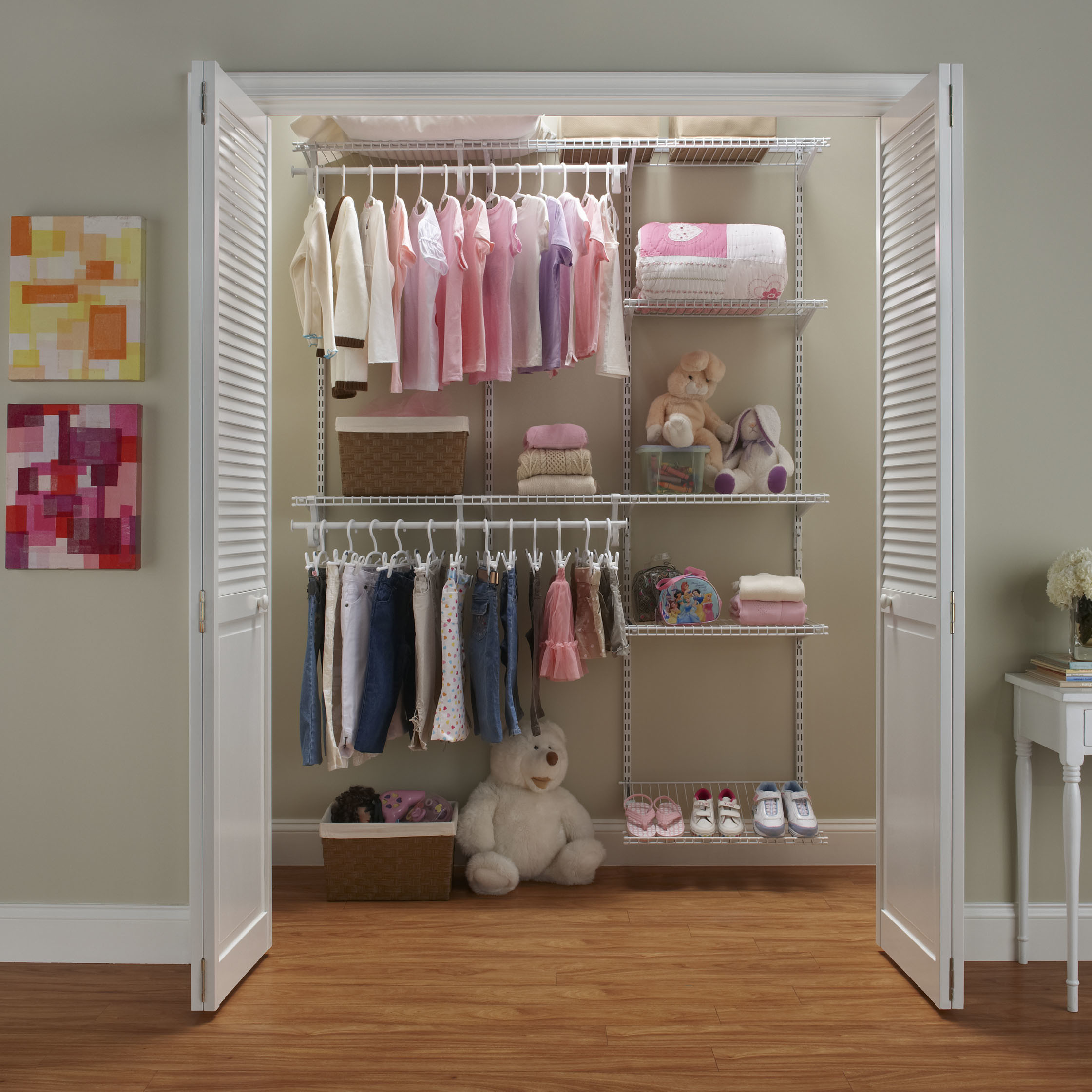 Lowes Shelving Closet | Lowes Wire Shelving | Shelf Tech System Lowes