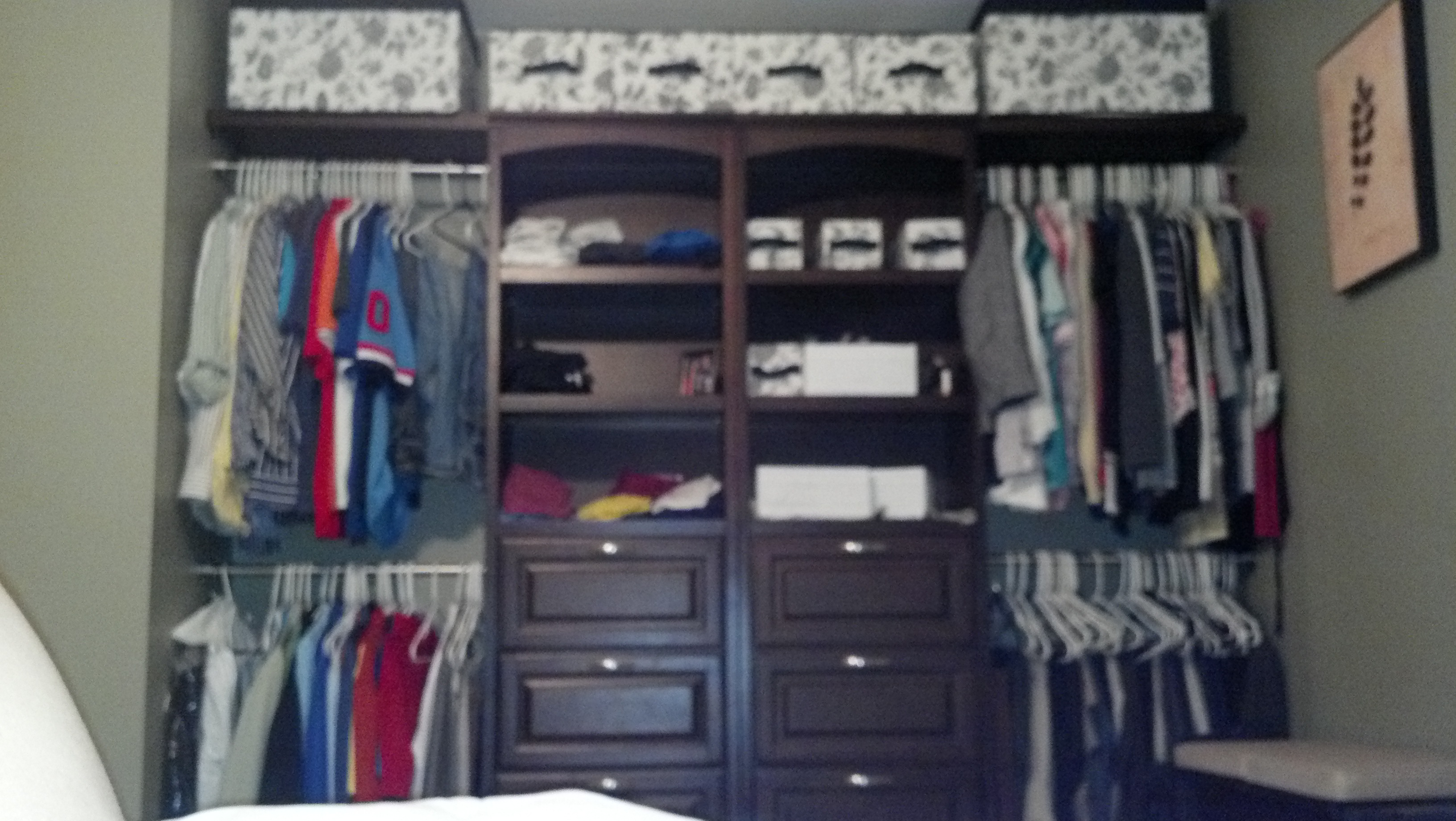 fitted wardrobe in walk and hangind rails with closets drawers of closet premade lights luxury led benefits min