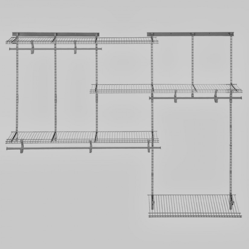 Lowes Wire Shelving | Utility Shelves Lowes | Lowes Closet Shelving System