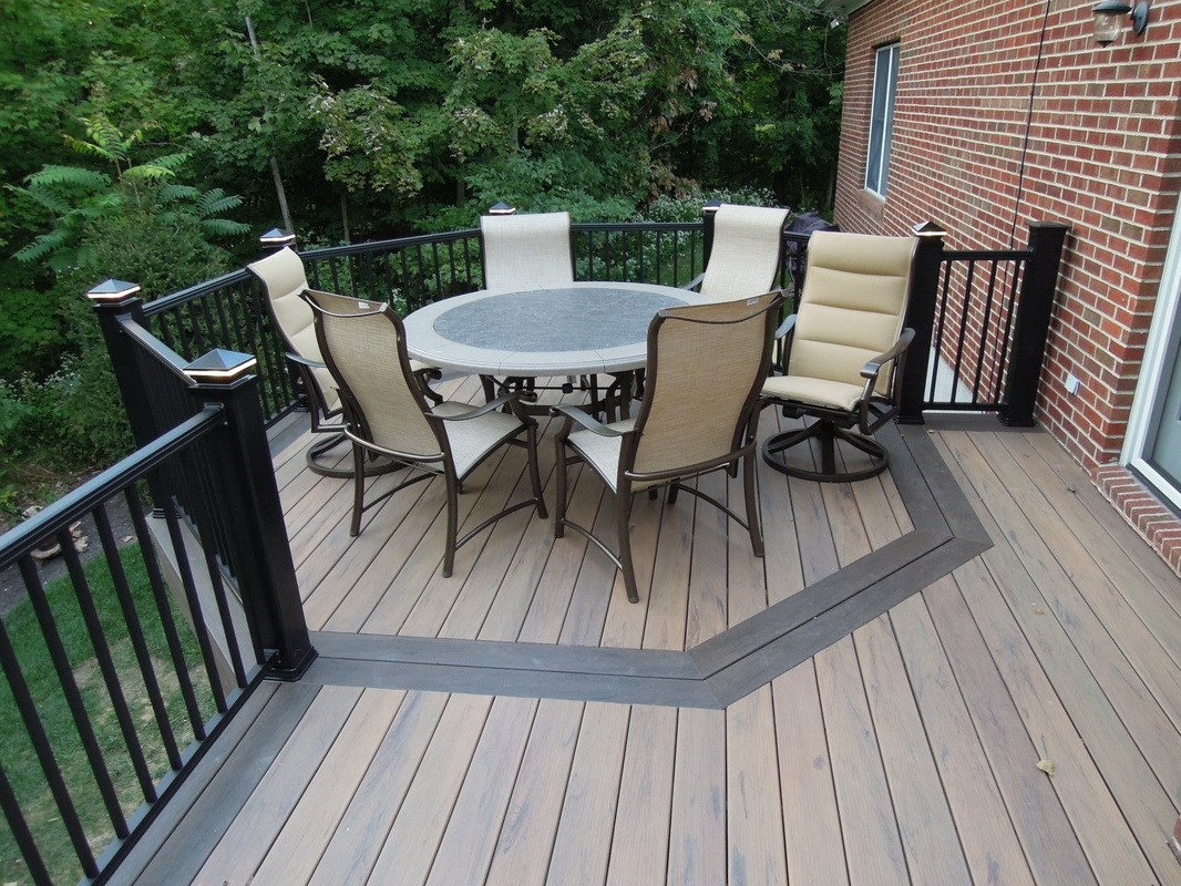 Maintenance Free Decking | Tigerwood Decking | Synthetic Wood Deck