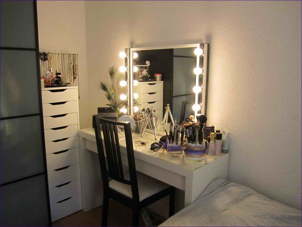Makeup Vanity Mirror with Lights | Vanity Girl Hollywood Mirror Dupe | Hollywood Vanity Mirror with Lights