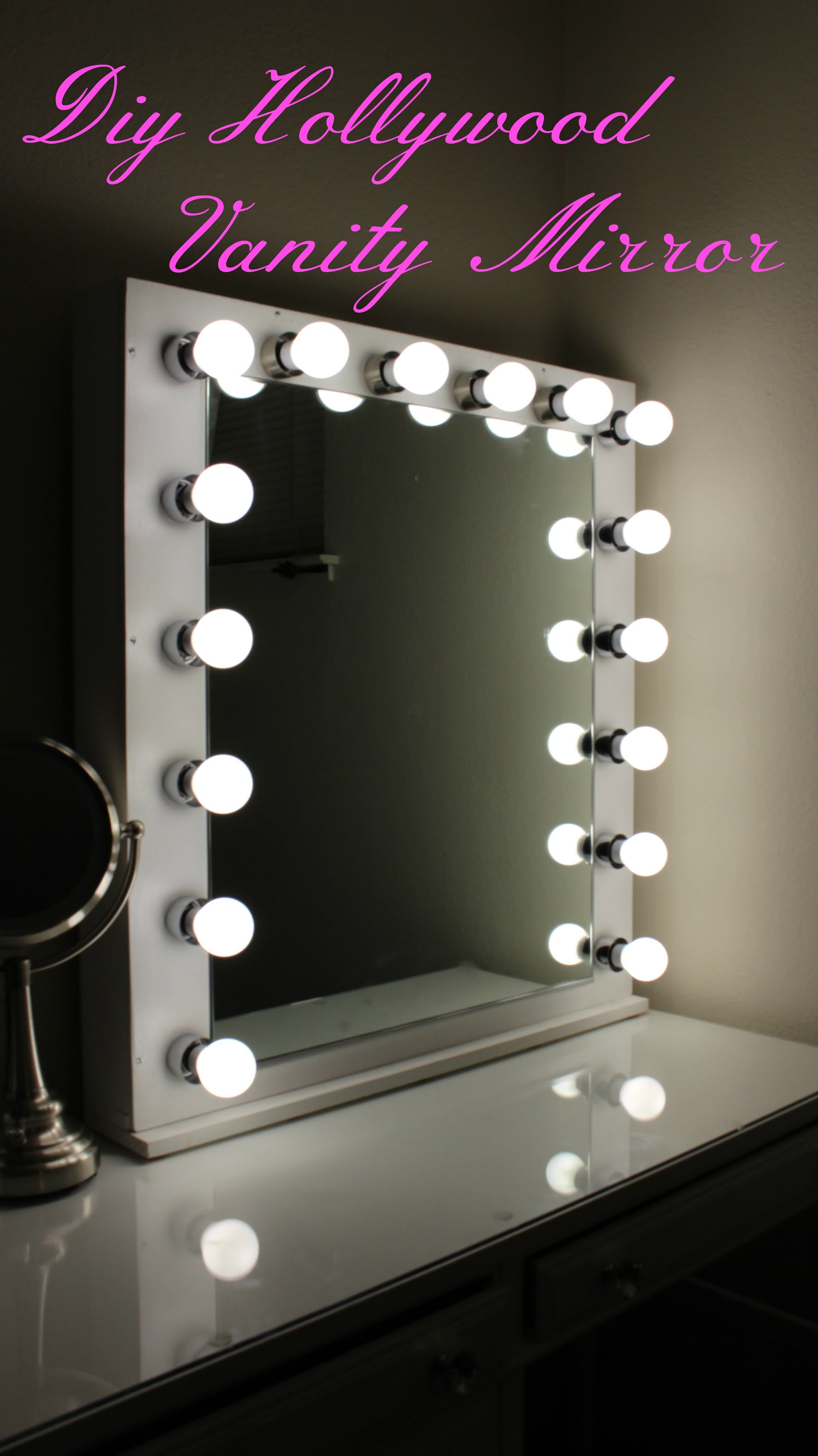 lamp alluring beautiful ideas with side diy of led mirror lights hollywood vanity makeup accessories