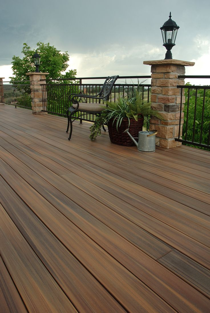 Manufactured Decking | Veranda Composite Decking | Fiberon Fencing