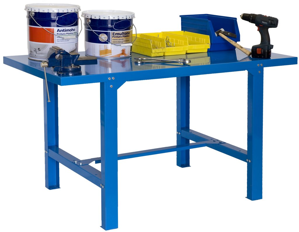 Mechanic Work Bench | Metal Workbench With Wheels | Metal Workbench
