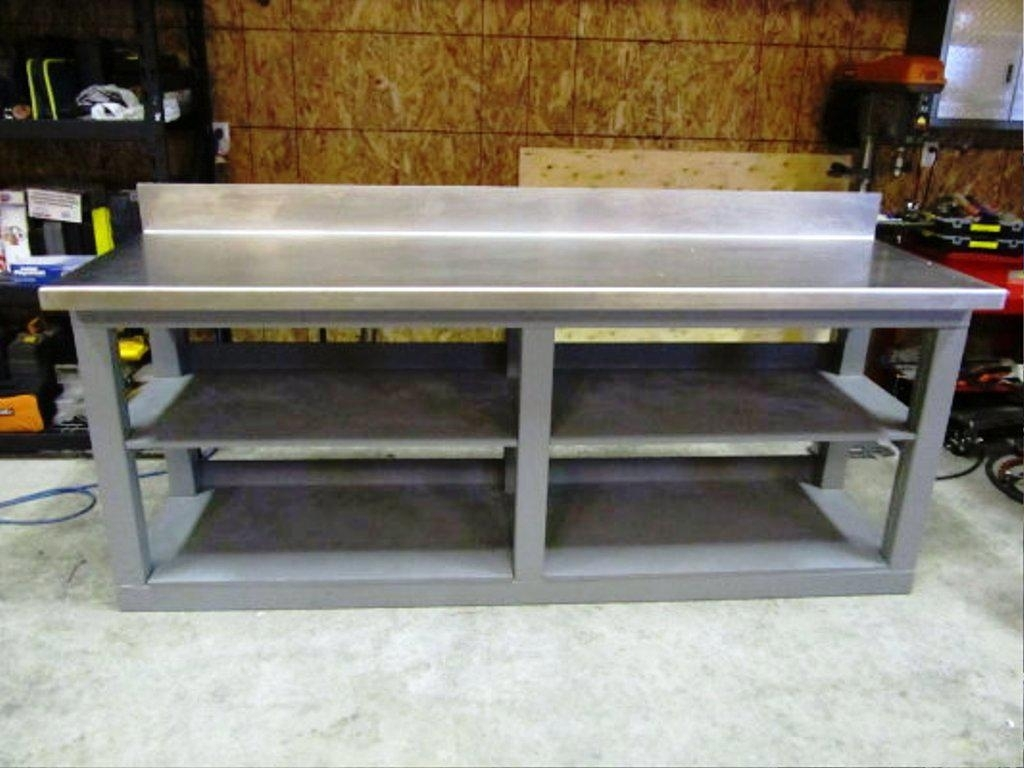 Metal Workbench | Steel Frame Workbench | Craftsman Work Benches