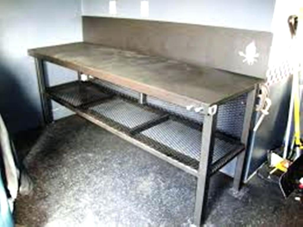 Metal Workbench with Wheels | Standing Workbench | Metal Workbench