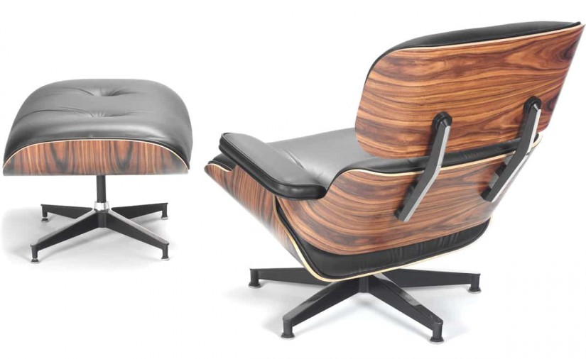 Miller Eames Chair | Herman Miller Ottoman | Eames Lounge Chair And Ottoman