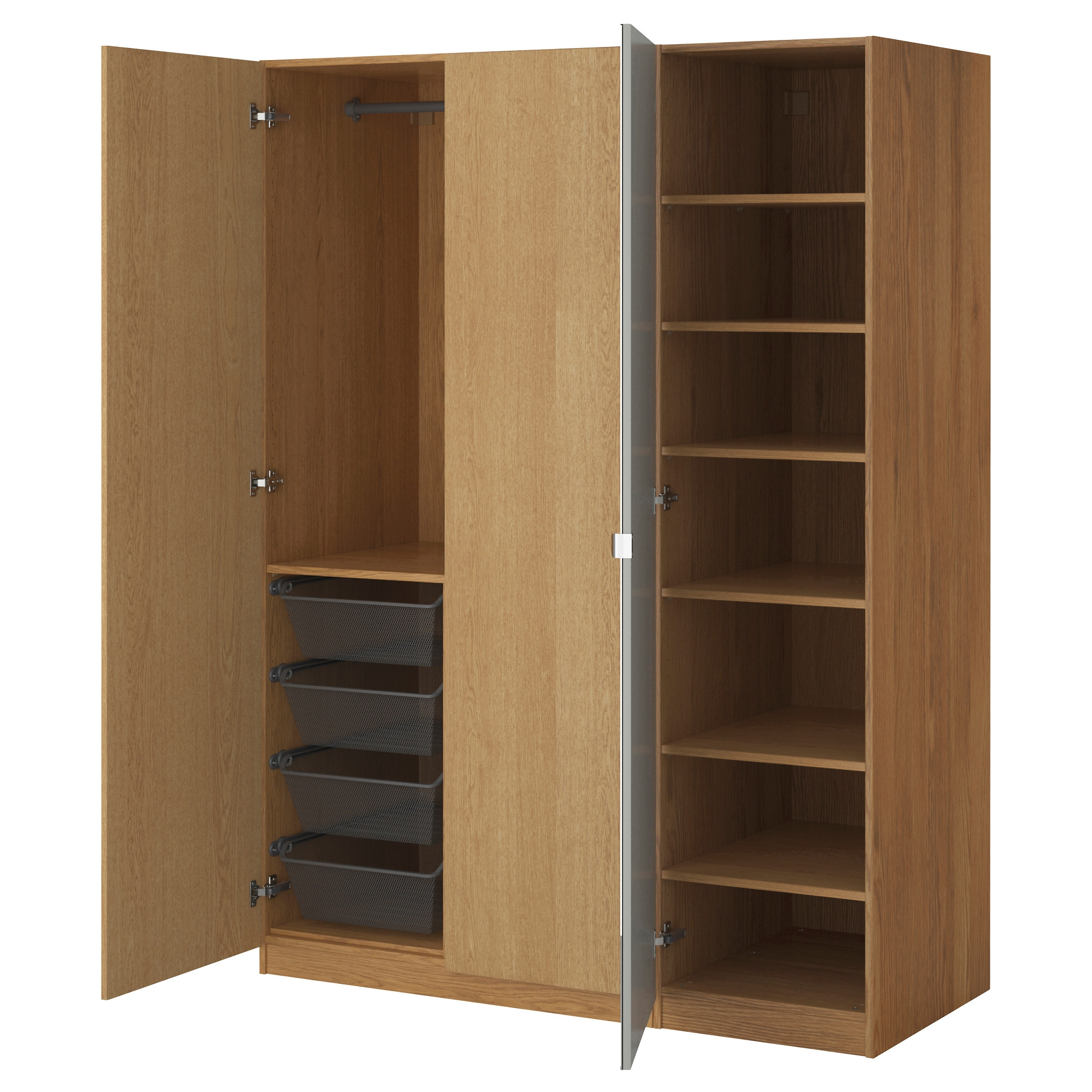 Storage Elegant Bedroom Cabinet Design With Armoire Ikea
