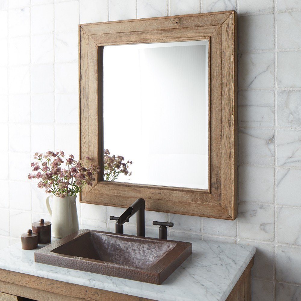 Mirrors at Kirklands | Reclaimed Wood Mirror | Diy Reclaimed Wood Mirror