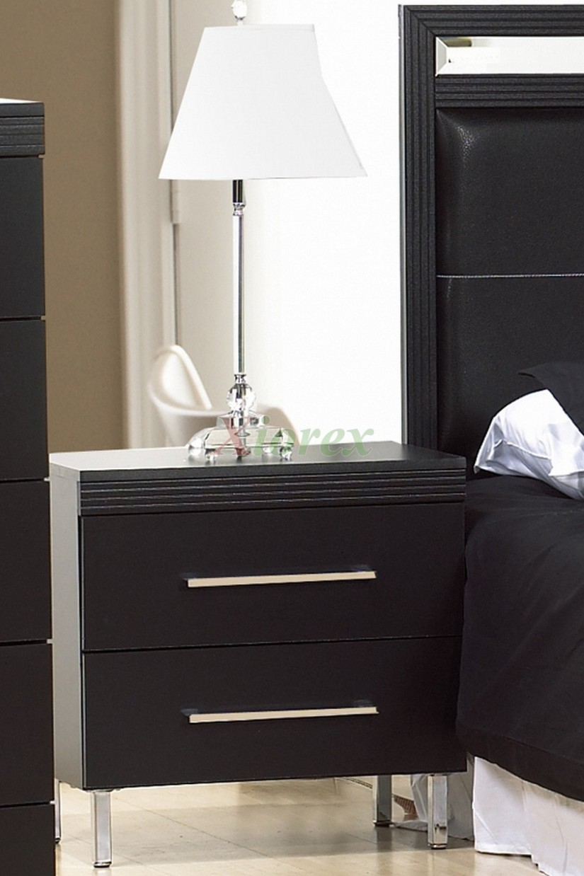 Modern Bedside Tables | Bedside End Tables | Pink Nightstand Side Table
