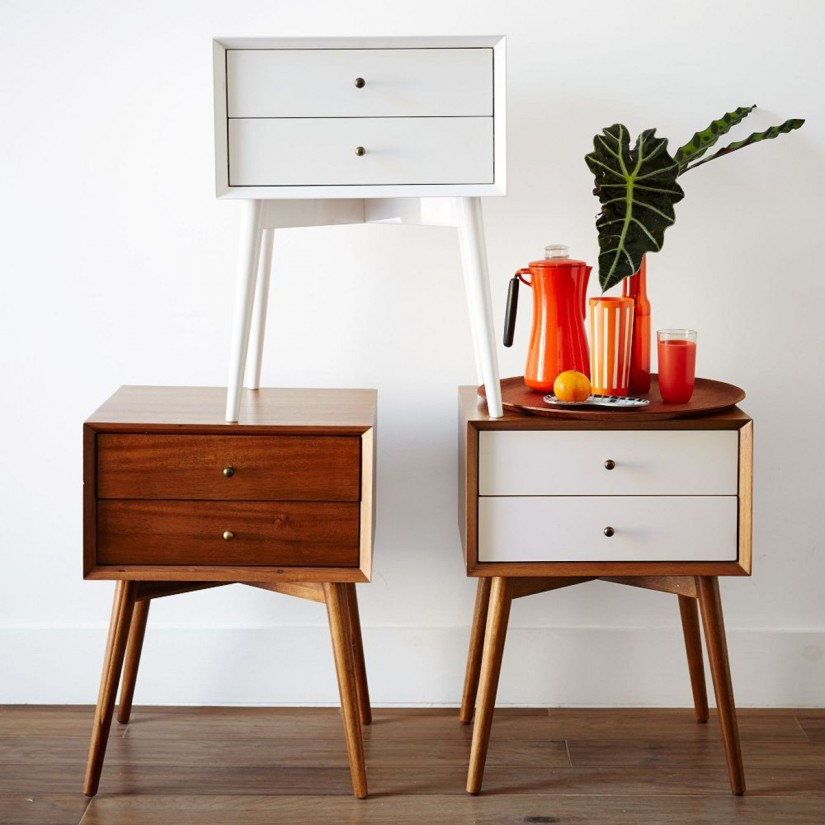 Modern Bedside Tables | Bedside Lockers | Narrow Bedside Table With Drawers
