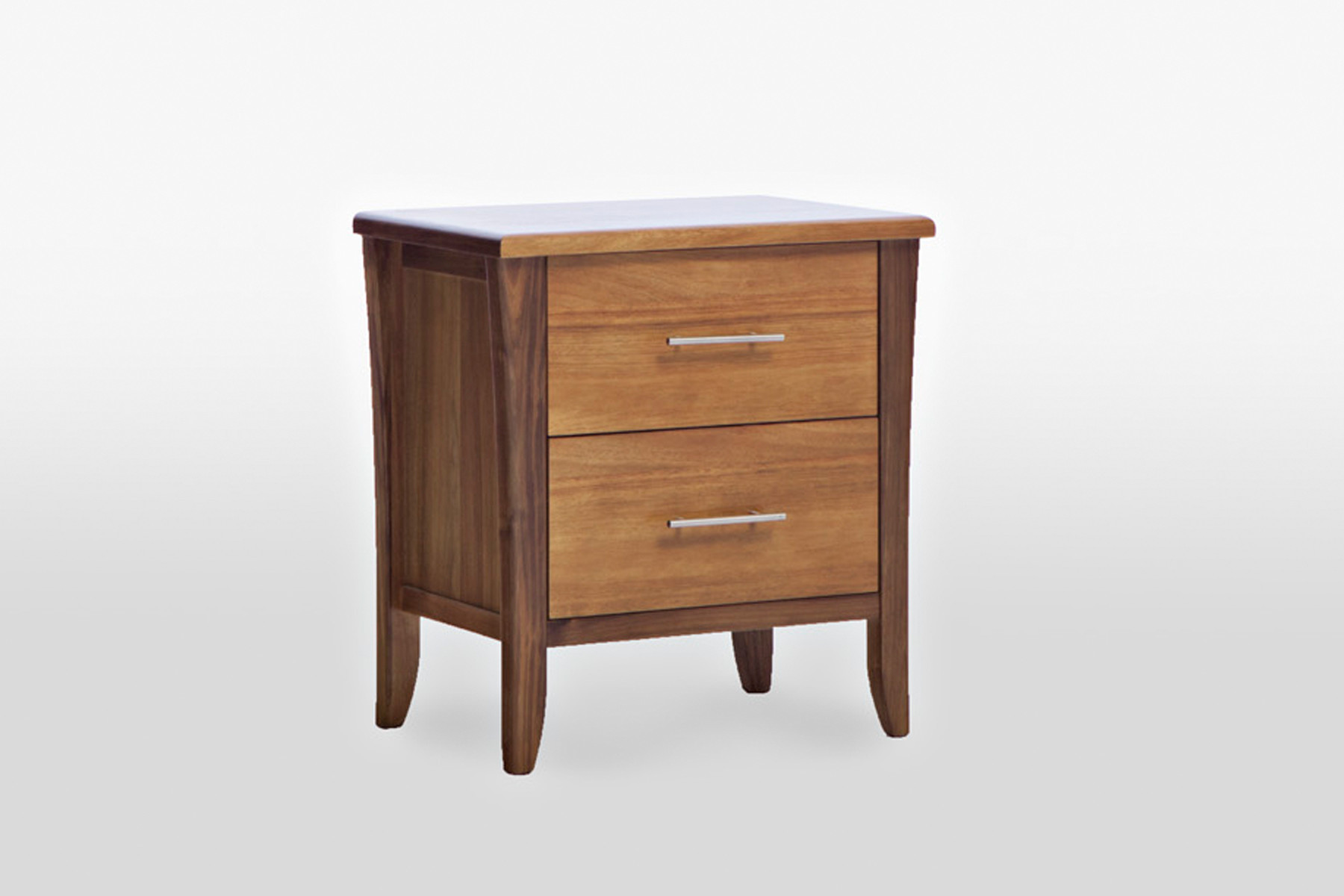 Modern Bedside Tables | Walnut Nightstands | Wrought Iron Night Stand