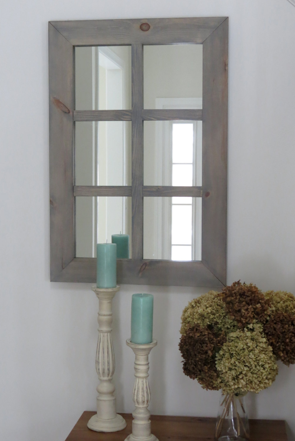 Multi Paned Mirror | Windowpane Mirror | Oversized Wall Mirrors
