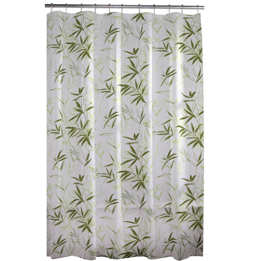 Navy and Tan Shower Curtain | Floral Shower Curtain | Americana Shower Curtains