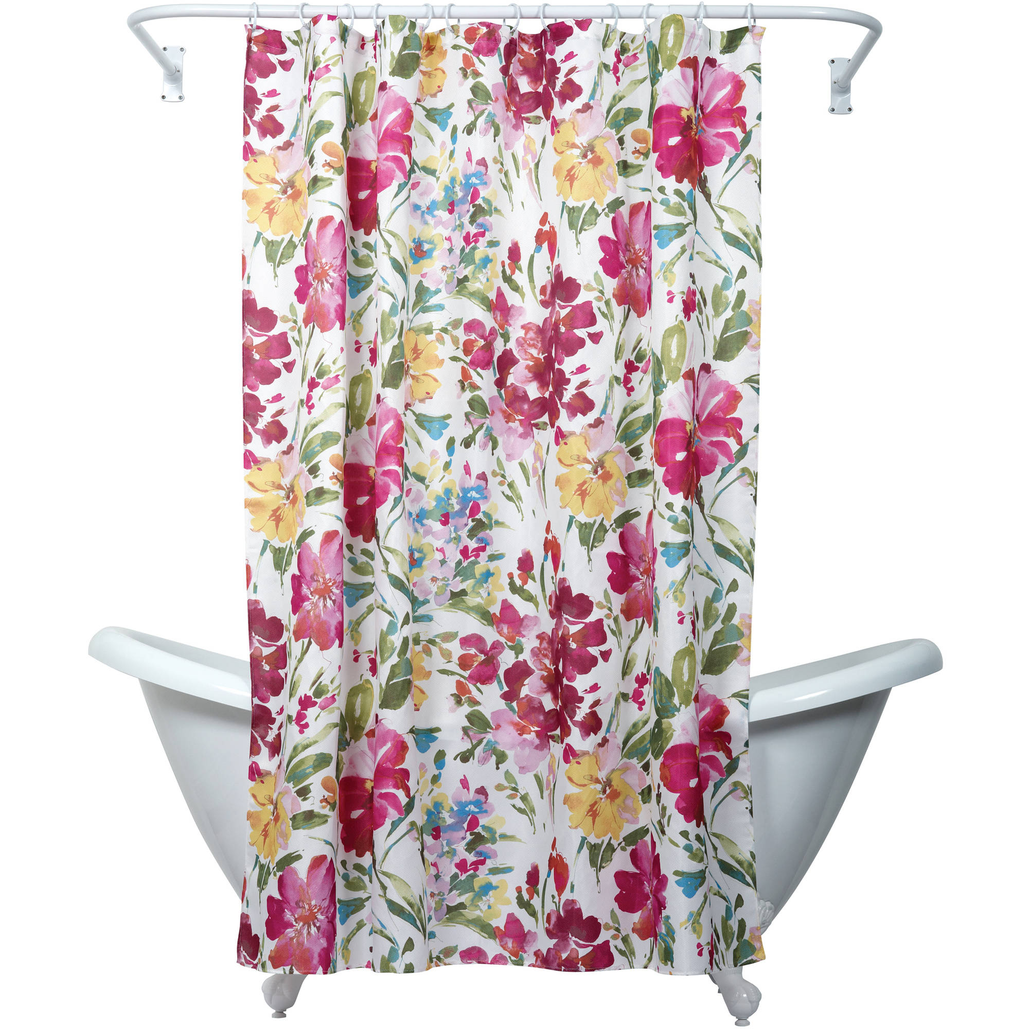 Neutral Shower Curtains | Floral Shower Curtain Target | Floral Shower Curtain
