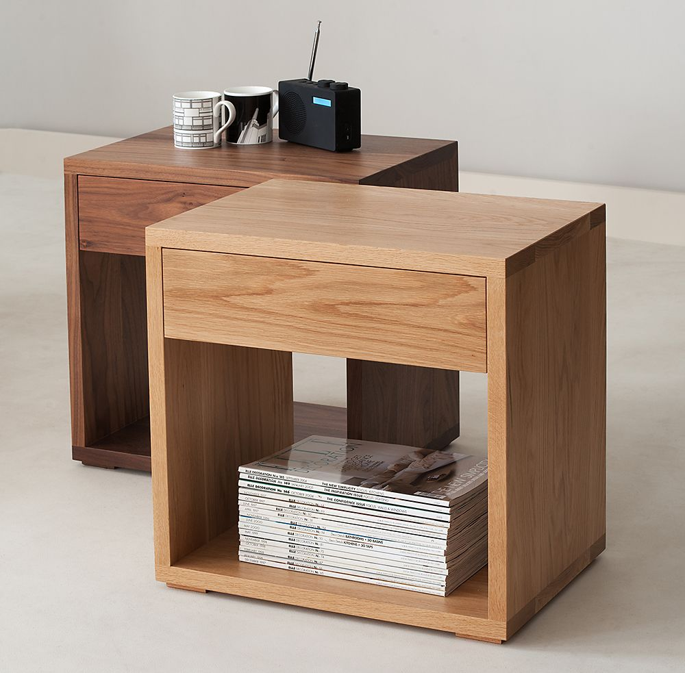 Nightside Tables | 16 Inch Wide Nightstand | Modern Bedside Tables