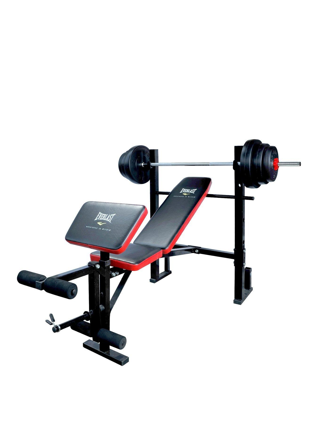 Olympic Bench Set with Weights | Used Olympic Weight Bench | Craigslist Weight Bench