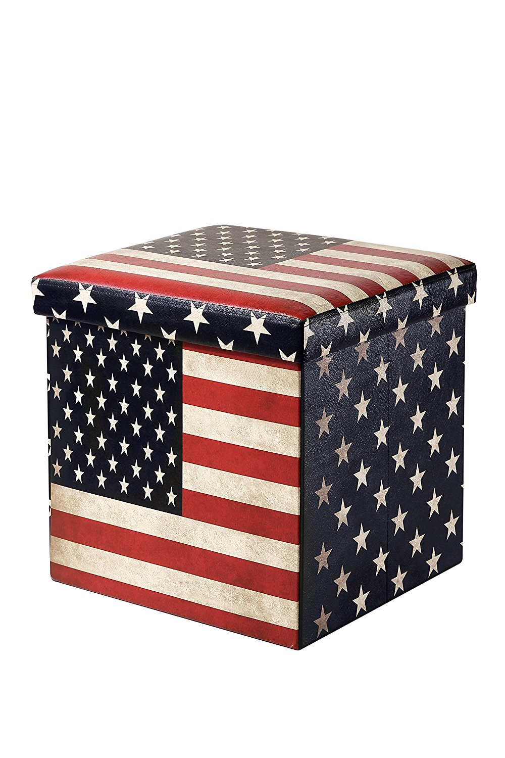 Ottomans and Cubes | Leather Ottoman Cube | Storage Cube Ottoman