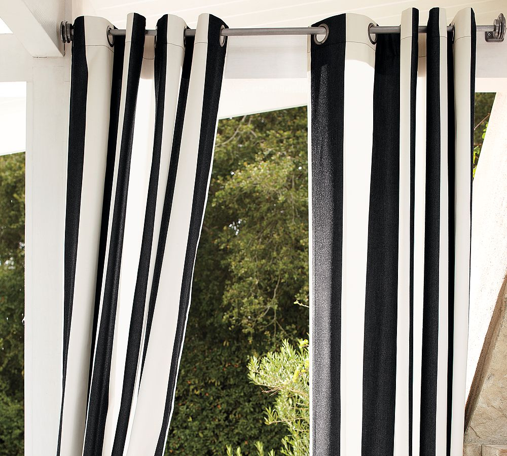 Outdoor Draperies | Sunbrella Curtains | Outdoor Sunbrella Curtains