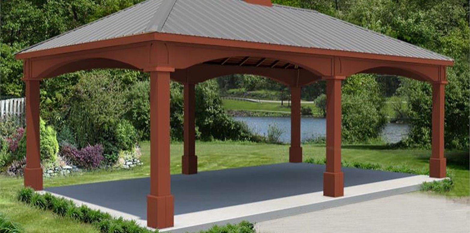 Outdoor Metal Gazebo Screen Houses | Screened Gazebo | Screened Gazebos