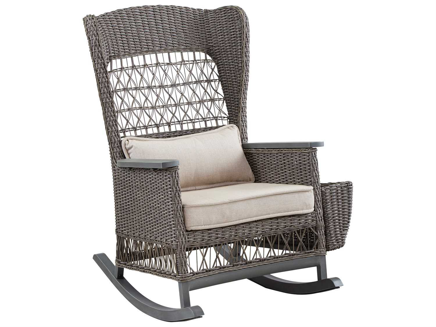 Outdoor Wicker Swivel Chair | Indoor Glider Chair | Rattan Swivel Rocker