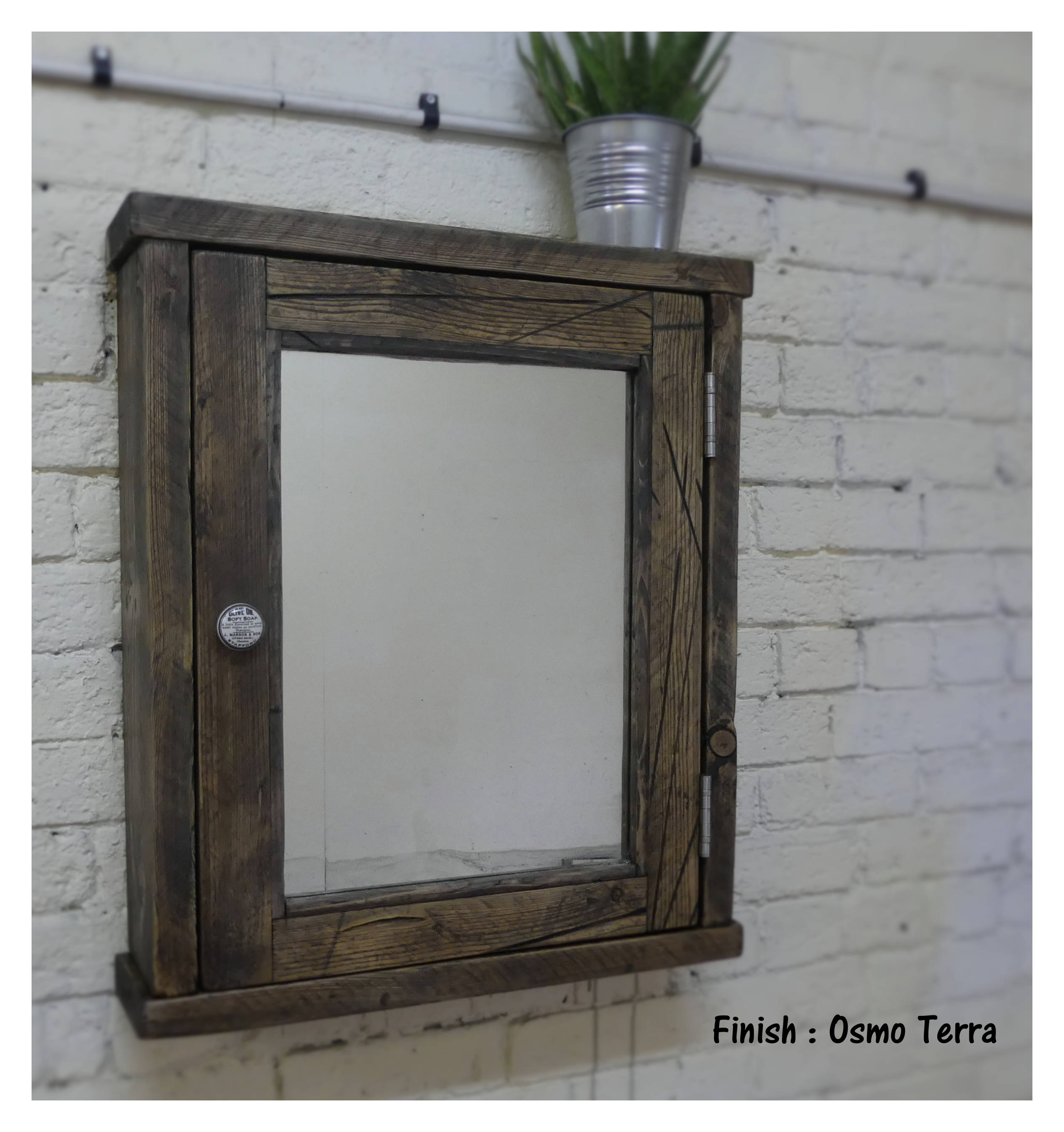 Oversized Wall Mirror | Mercury Glass Wall Mirror | Reclaimed Wood Mirror