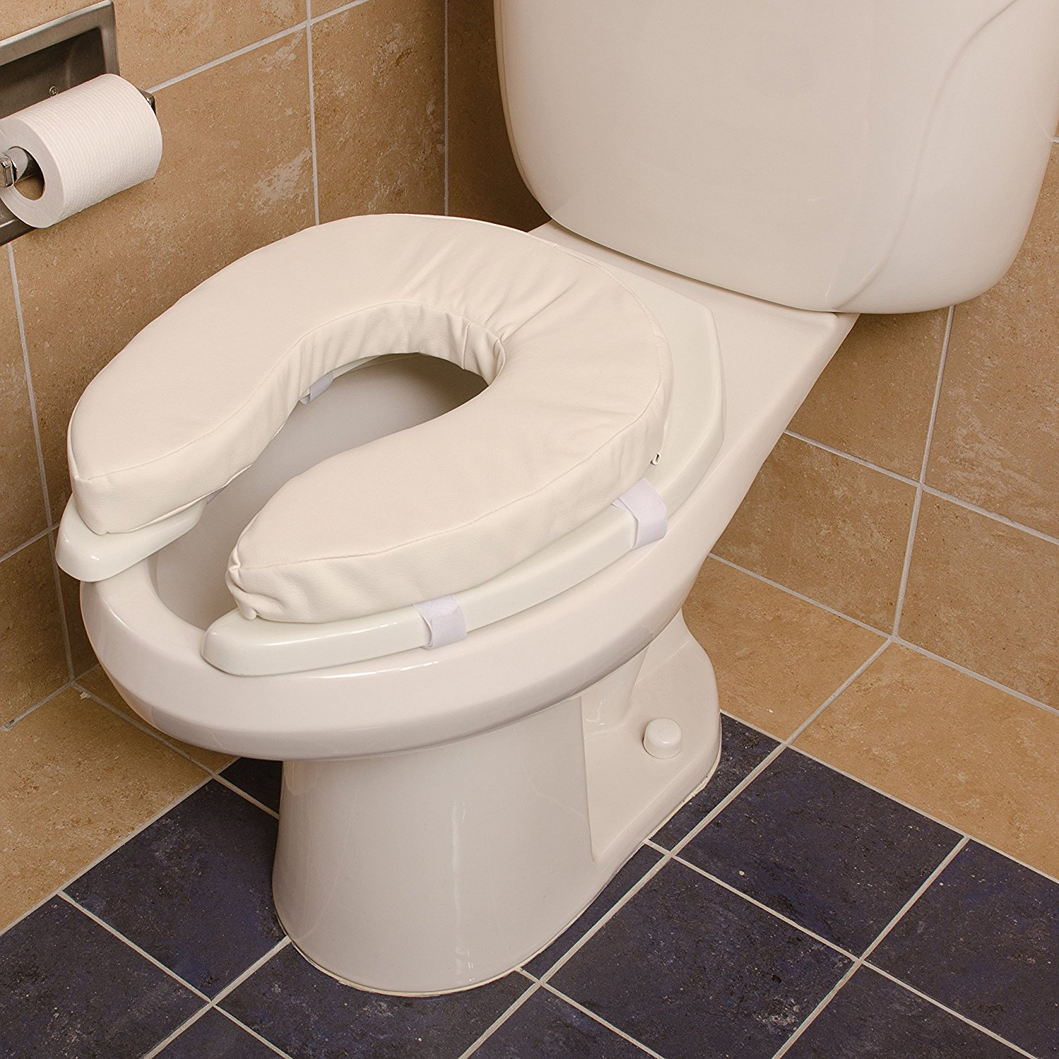 Padded Toilet Seat Cushion | Cushioned Toilet Seats | Toilet Seat Soft