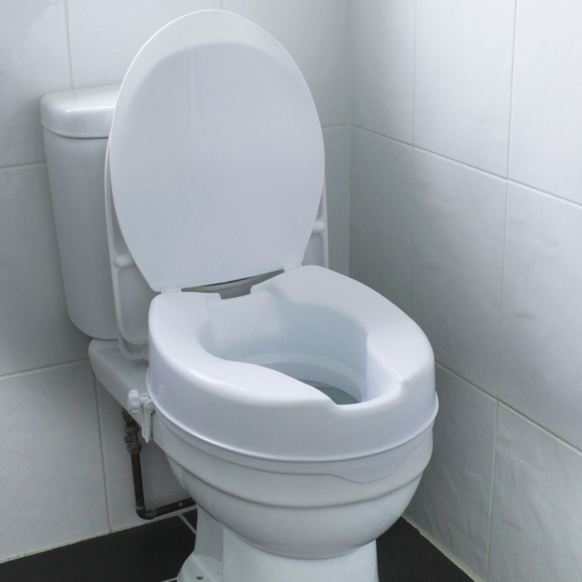 Padded Toilet Seat Elongated Bone | Commode Seat Cushion | Cushioned Toilet Seats