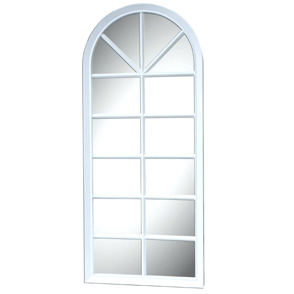 Palladian Window Mirror | Windowpane Mirror | Rhinestone Wall Mirror