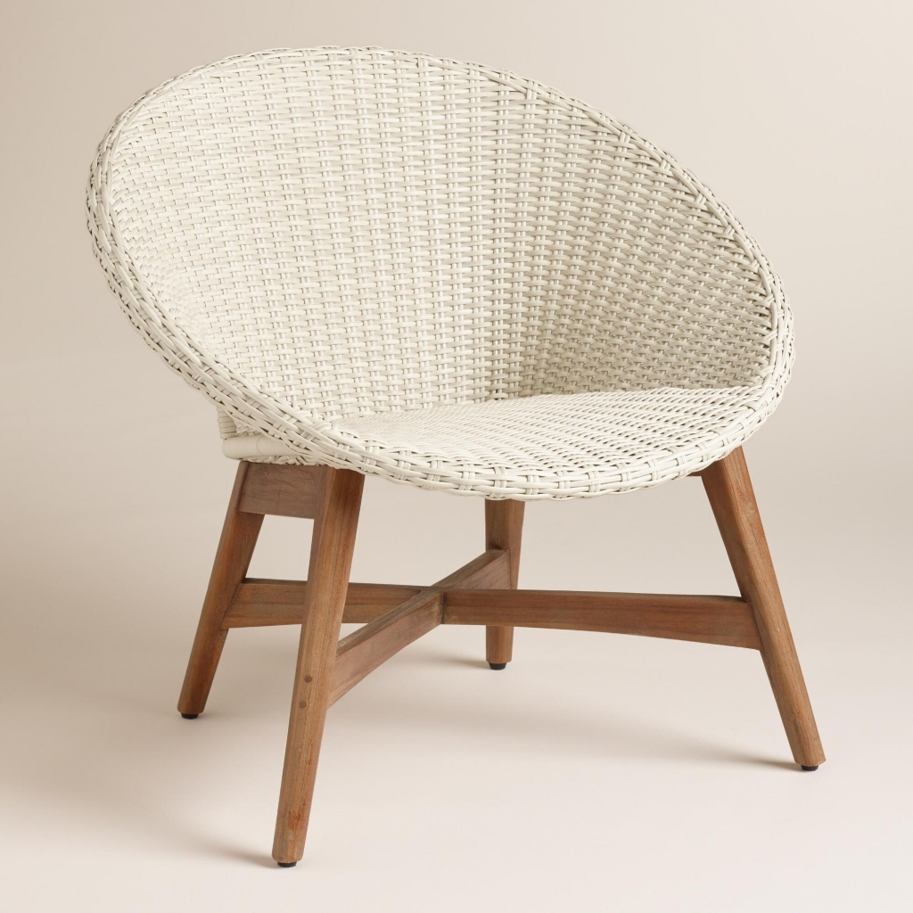 Papasan Rocking Chair | Wicker Recliners | Rattan Swivel Rocker