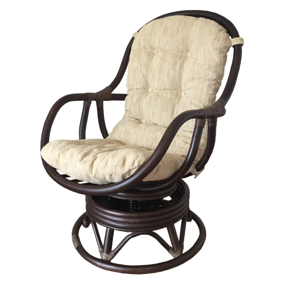 Papasan Swivel Rocker Chair | Rattan Swivel Rocker | Papasan Swivel Chair