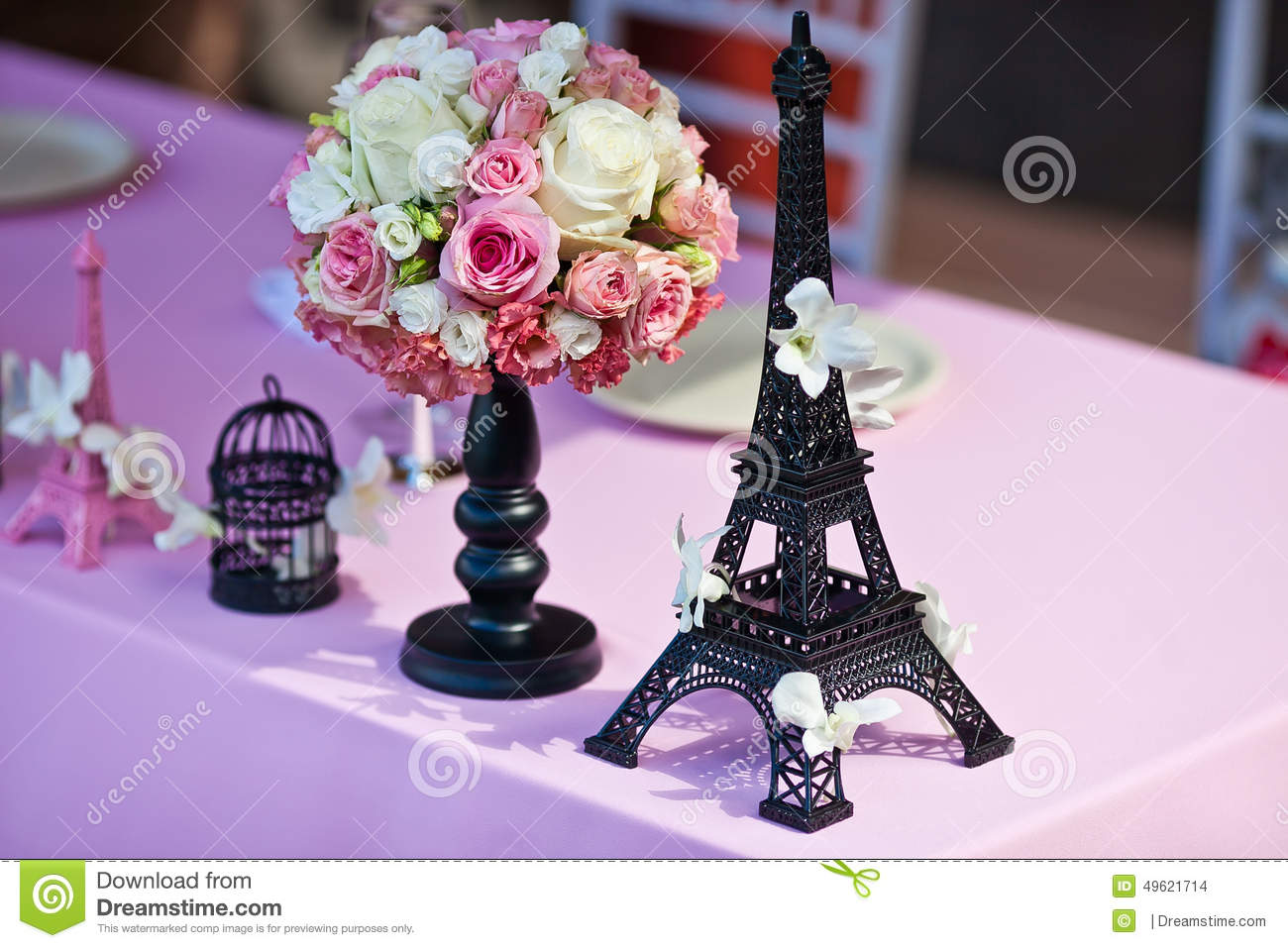 Paris Quinceanera Theme | Eiffel Tower Centerpieces | Eiffel Tower Decoration Ideas