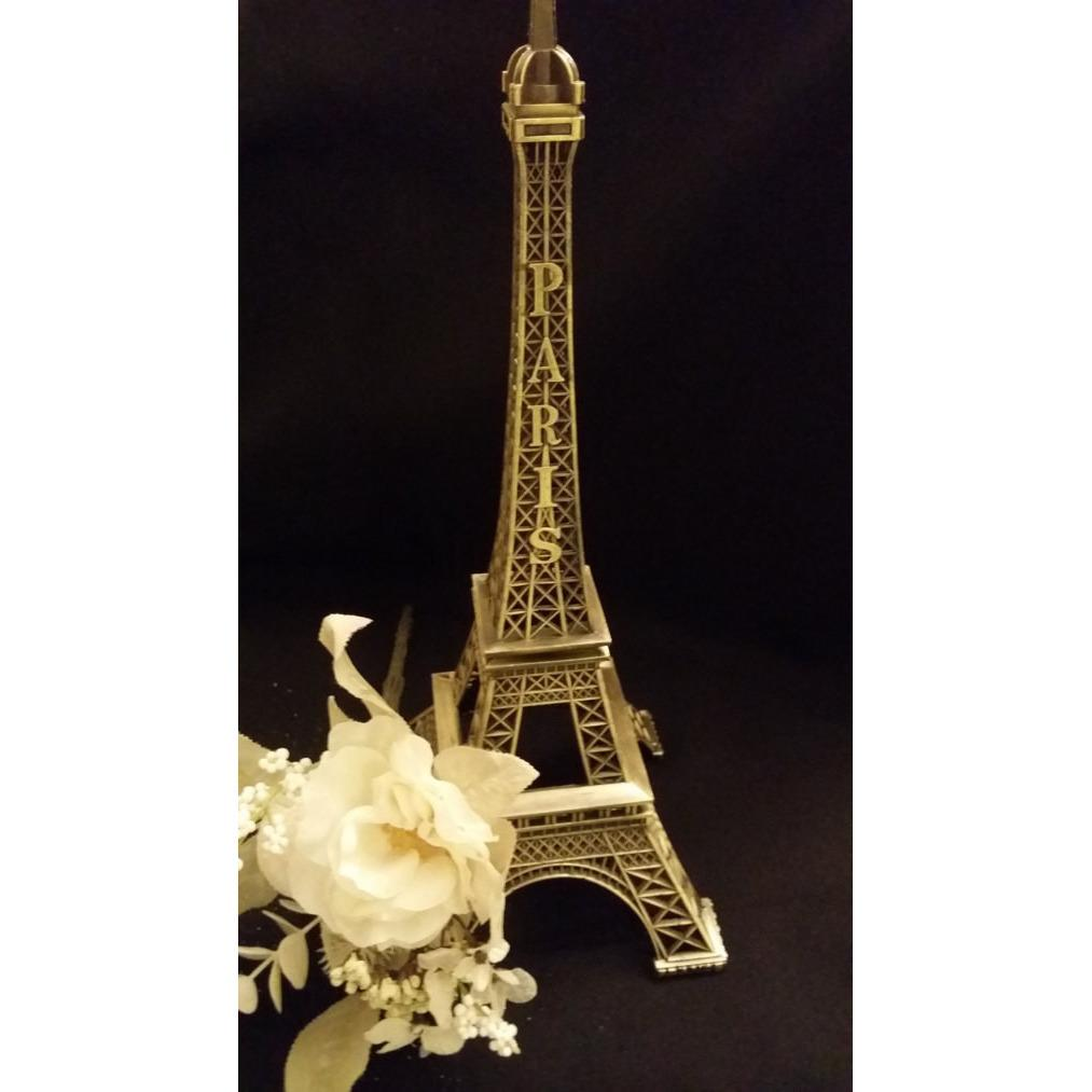 Paris Themed Table Centerpieces | Eiffel Tower Centerpieces | Eiffel Tower Vases Centerpieces and Decorations