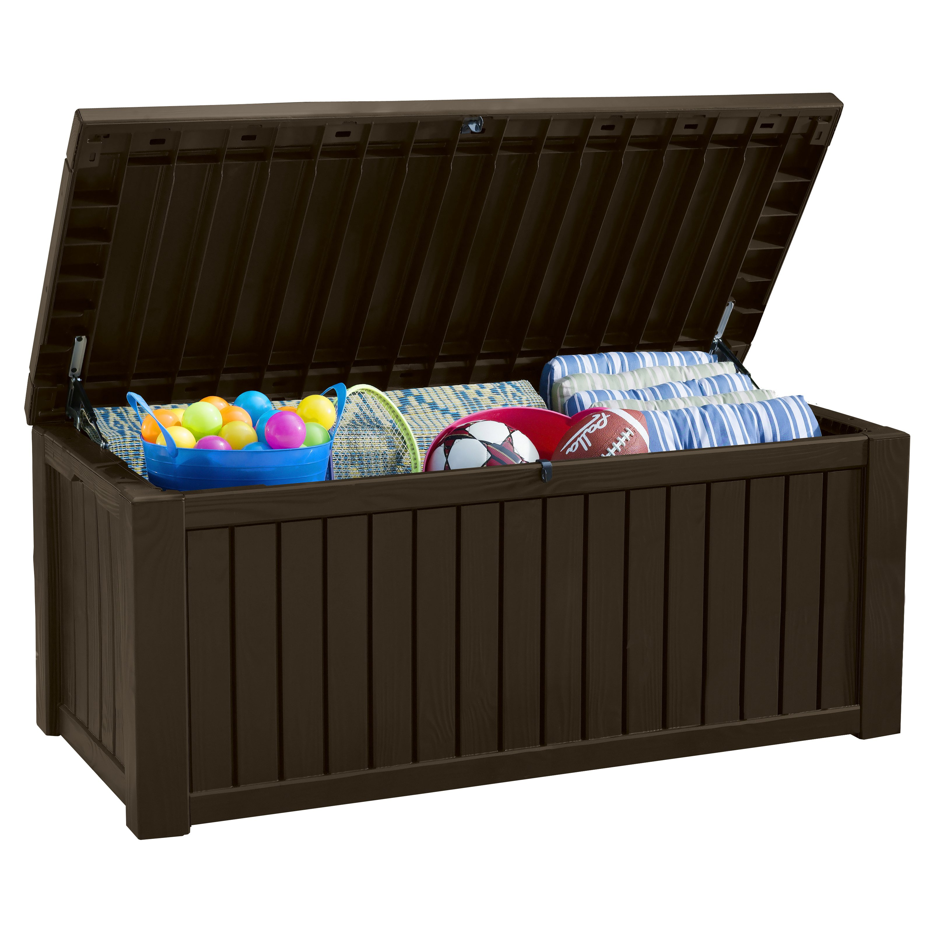 Patio Deck Storage | Keter 150 Gallon Deck Box | Keter Storage Box