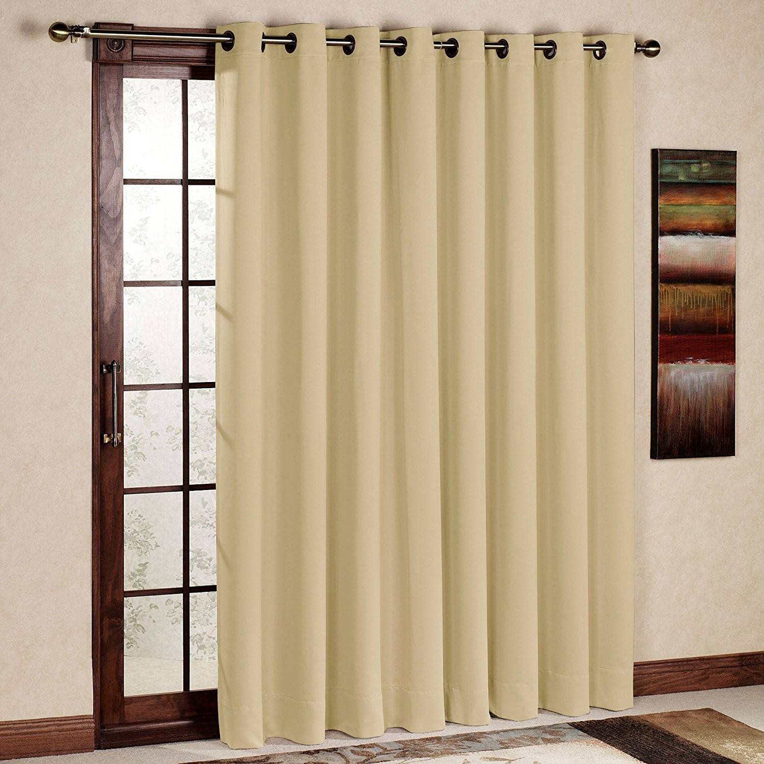 Patio Door Thermal Insulated Drapes | Thermal Insulated Curtains | Thermal Window Curtains