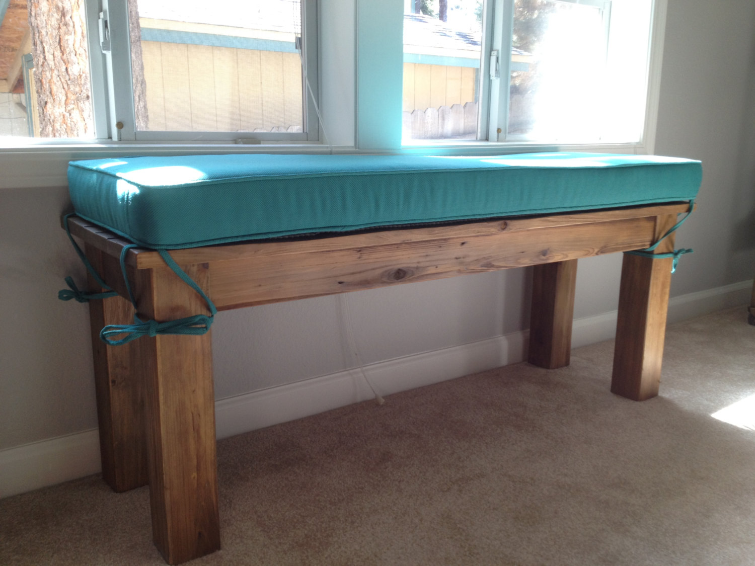 Piano Bench Cushion | Bench Seat Cushions Indoor | 3 Foot Bench Cushion