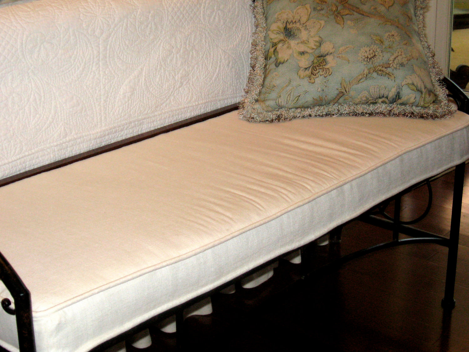 Piano Bench Cushion | Rectangular Bench Cushion | Hope Chest Cushion