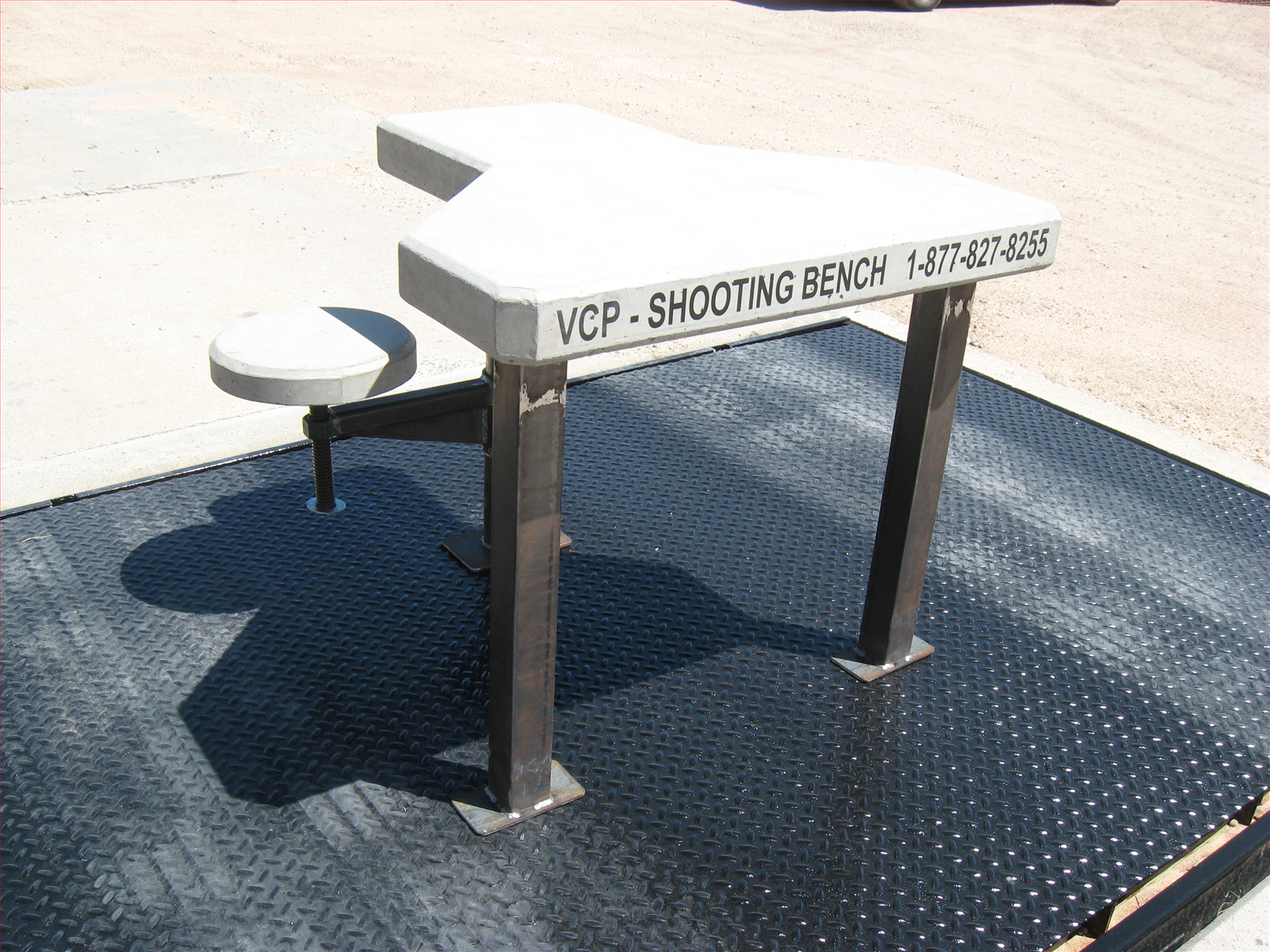 How to Build A Shooting Bench with Precision Point: Plans For Portable Shooting Bench | Shooting Benches How To Build | How To Build A Shooting Bench
