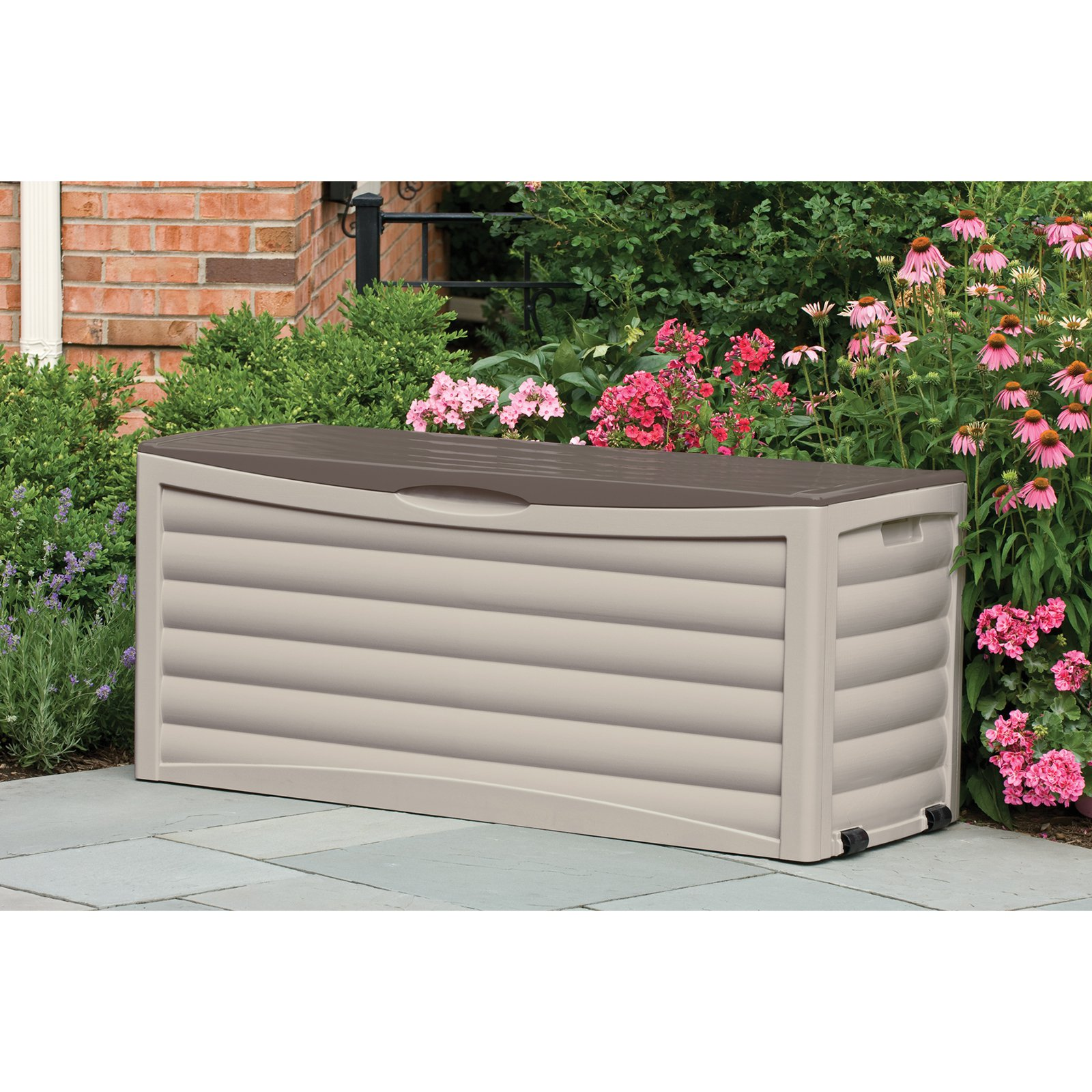 Plastic Deck Boxes | Keter 150 Gallon Deck Box | Keter Jumbo Deck Box