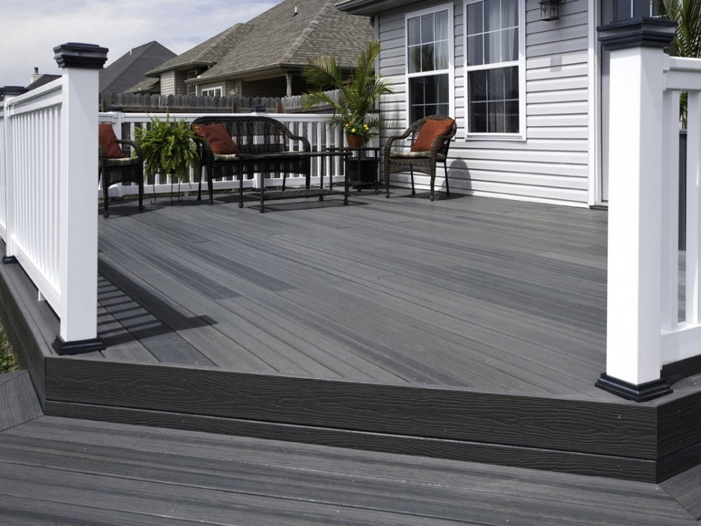 Porch Gate Home Depot | Veranda Armorguard Decking | Veranda Composite Decking