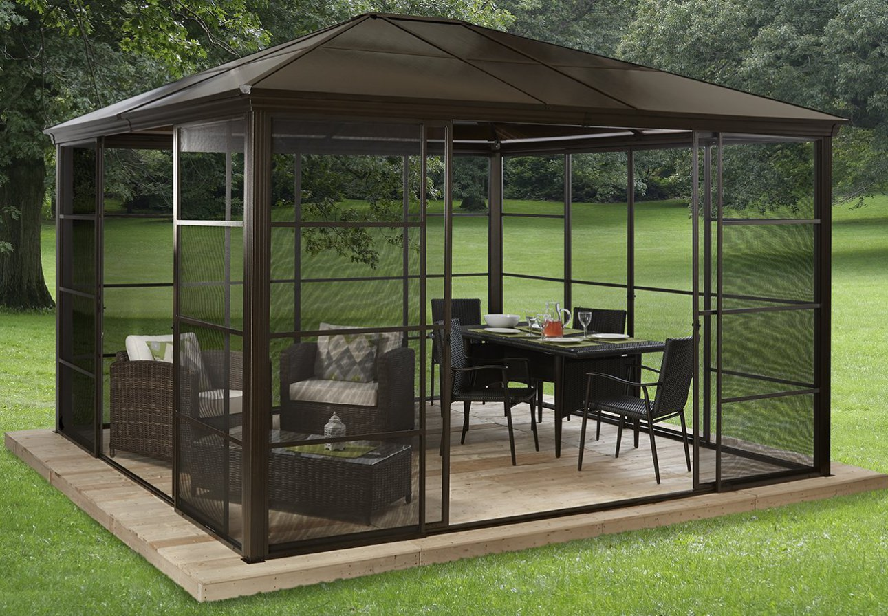 Portable Gazebos | Screened Gazebo | Screen Panels for Gazebos